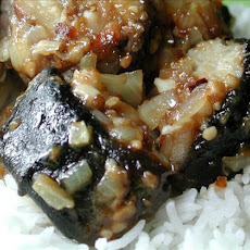 Stir-Fried Eel With Black Bean