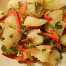 Warm Asian Potato Salad