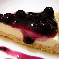 Cream Cheese Blueberry Pie