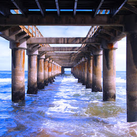 Jetty Swakopmund by Nam Faces - Buildings & Architecture Statues & Monuments (  )