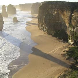 Twelve Apostles by Petrus Van Aardt - Landscapes Caves & Formations ( limestone, twelve apostles, sea, rock stacks, beach )