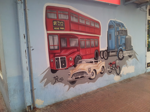 Mural Vehiculos