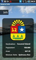 Screenshot of Cozumel Travel Guide