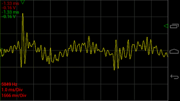 Screenshot of Oscilloscope Pro