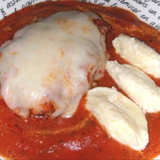 Patties Parmigiana