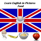 English in Pictures Food Free icon