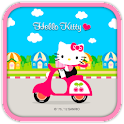 Hello Kitty Scooter Theme icon