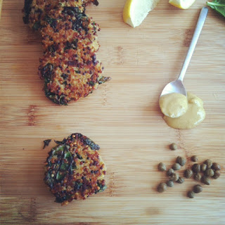 Kale and Quinoa Cakes