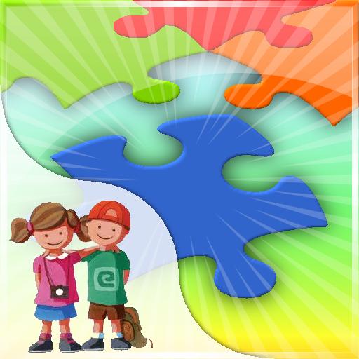 Yoジグソーパズル:子供たちが埋める 解謎 LOGO-玩APPs