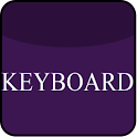 Violet Glass Keyboard Skin icon