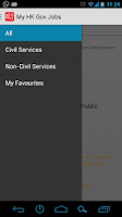 Screenshot of My HK Gov Jobs (Free, No Ad)