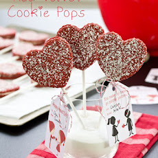 Red Velvet Cookie(s) Pops