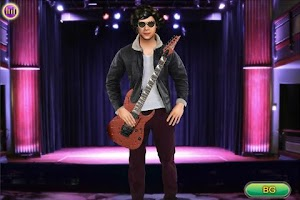 Screenshot of Celebrities Dress up - Harry