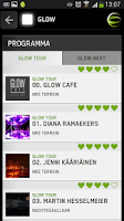 Screenshot of GLOW Eindhoven