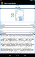 Screenshot of 16 German states