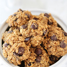 Gluten-Free Vegan Banana Peanut Butter Chocolate Chip Cookies