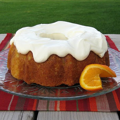 Orange Zucchini Cake