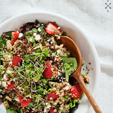 Strawberry Quinoa & Feta Salad