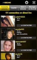 Screenshot of Rencontre webcam - tchat cam