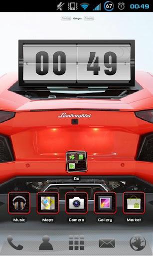 Lambo Aventador Go EX Theme