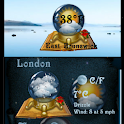 Globe Weather Widget