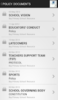 Screenshot of D6 School Communicator