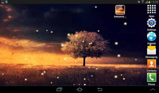 App Awesome-Land Live wallpaper HD : Plant a Tree !! APK for Windows Phone