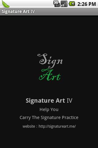 My Artistic Signature Ⅳ
