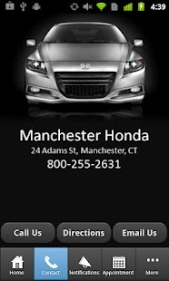 Manchester Honda - screenshot