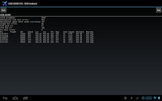 Screenshot of ADS-B on USB SDR RTL
