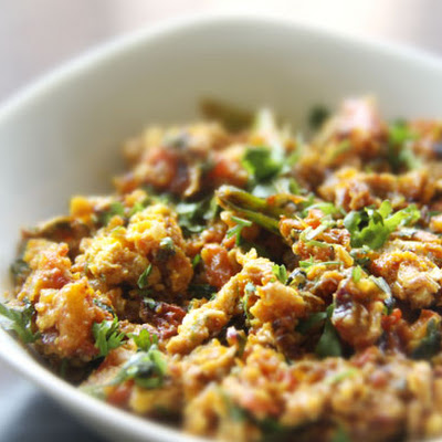 Anda Bhurji (Spicy Indian Scrambled Eggs)