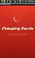 Screenshot of Country Facts Guatemala