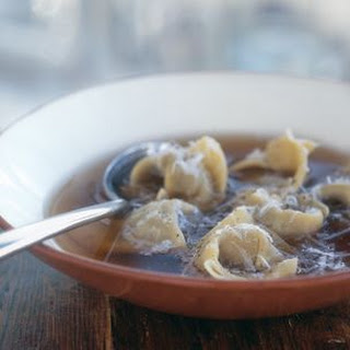 Beef Tortellini in Broth