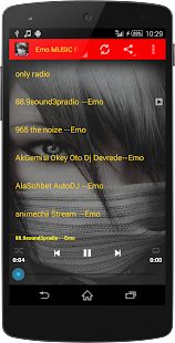 Emo MUSIC Radio - screenshot