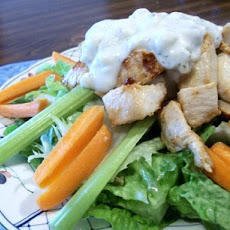 Light Buffalo Chicken Salad