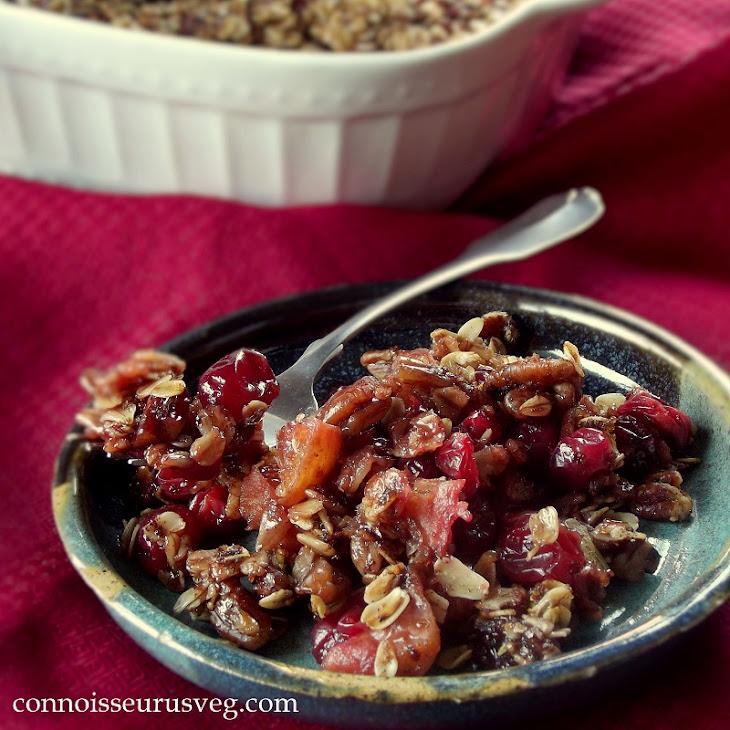 Granola Topped Cranberry Orange Casserole Recipe | Yummly