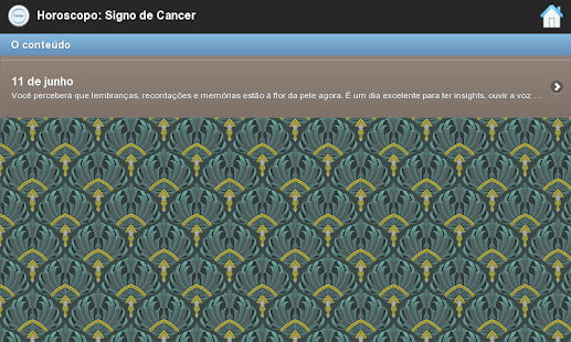 Horoscopo: Signo De Cancer - screenshot