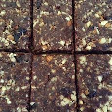 Groovy No Added Sugar Chocolate Cherry Coconut Bars