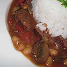Diabetic Italian Sausage and White Bean Stew