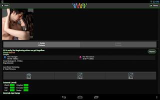 Screenshot of SLS Swingers Lifestyle