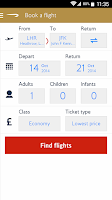 Screenshot of British Airways