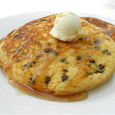Lighter Chocolate Chip Pancakes