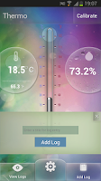 Screenshot of Samsung Galaxy S4 Thermometer