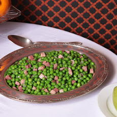 Sautéed Peas and Ham Recipe