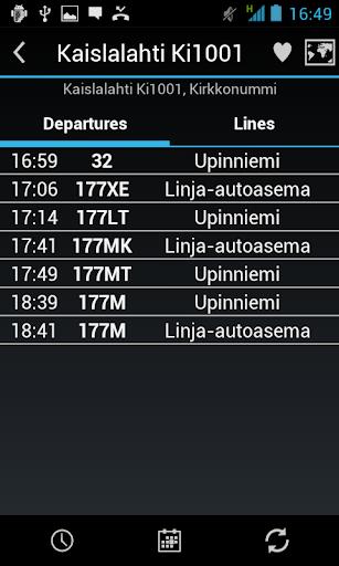 Bussit Reittiopas Ad - screenshot