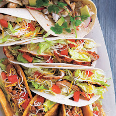 Santa Fe Grilled Chicken Soft Tacos