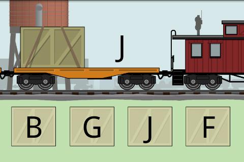 【免費教育App】Letters & Numbers Railroad-APP點子