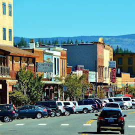 Old Town Truckee by Samantha Linn - City,  Street & Park  Historic Districts