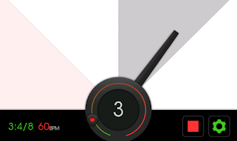 Screenshot of Visual Metronome