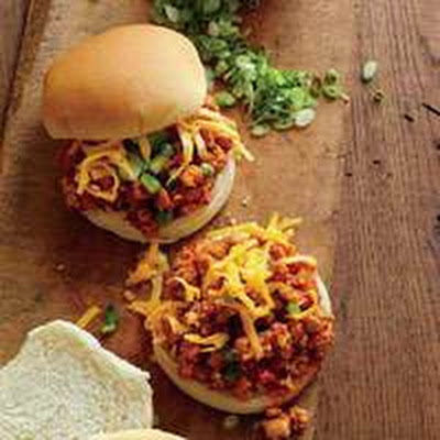 Sloppy Maple-BBQ Turkey Joes